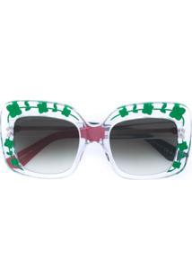 Gucci Eyewear Óculos De Sol - Neutro