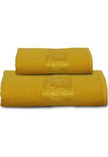 Jogo De Toalhas 2 Peças Altenburg Valência Golden - Amarelo