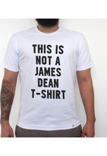 James Dean - Camiseta Clássica Masculina