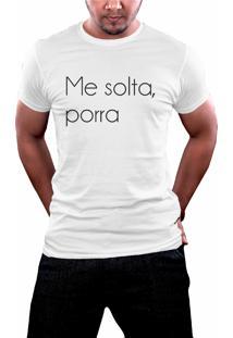 Camiseta Hunter Me Solta Branca
