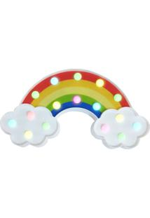 Luminã¡Ria Abajur Led Arco Iris Colorida Decoraã§Ã£O Festa Abajur - Multicolorido - Dafiti