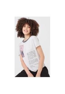 Camiseta Sacada Paisagem Cinza