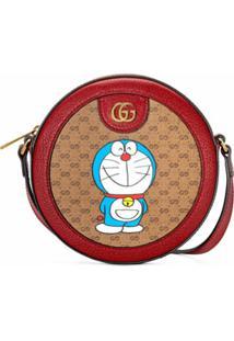 Gucci Bolsa Transversal X Doraemon - Neutro