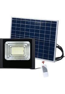 Refletor Solar 150W Led Iluminação Luminária Economia Solar