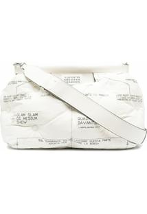 Maison Margiela Clutch Glam Slam - Branco