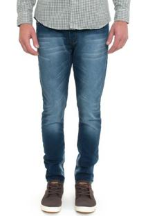 Calça Jeans Sweat Denim Slim