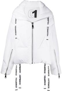 Khrisjoy Oversized Down Jacket - Branco