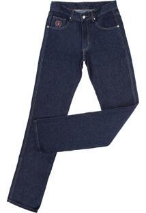 Calça Jeans Dock'S Pespontos Azul