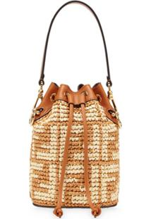 Fendi Mini Mon Tresor Bucket Bag - Marrom
