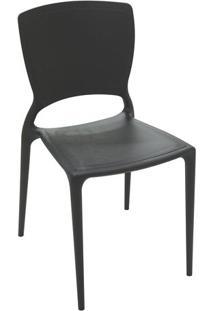 Cadeira Sofia- Preta- 82,5X53X44,5Cm- Tramontinatramontina