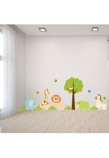 Adesivo Parede Quarto Infantil Animais E Árvore