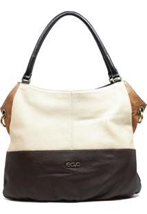Bolsa Em Couro Recuo Fashion Bag Sacola Tabaco