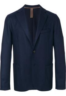 Eleventy Blazer Com Dois Botões - Azul