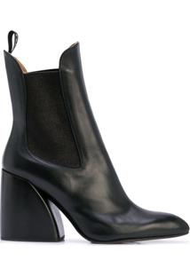 Chloé Ankle Boot Wave - Preto