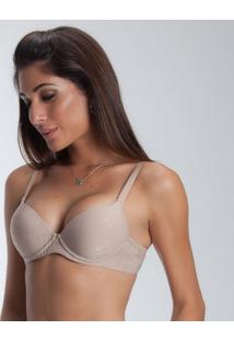 Sutiã Push Up Duloren - Feminino-Nude