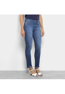 c287017ba0 ... Calça Jeans Skinny Ellus Cintura Média Feminina - Feminino-Jeans