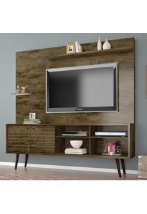 Estante Para Tv Turquesa Rústico - Bechara Móveis