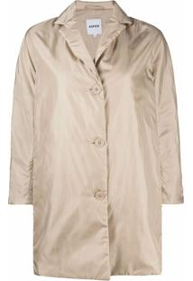 Aspesi Button-Down Parka Jacket - Neutro