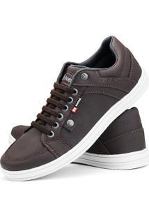 Sapatênis Cr Shoes Com Elástico Lançamento Café