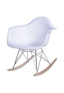 Poltrona Eames Dar Balanço Branco Or Design