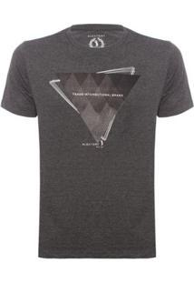 Camiseta Triangle Aleatory Masculina - Masculino