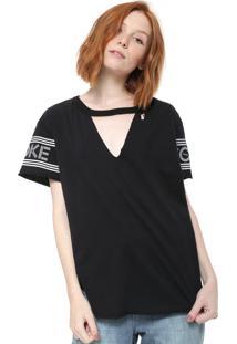 618826daf Camiseta Choker Estampada feminina