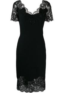 Ermanno Scervino Lace Dress - Preto