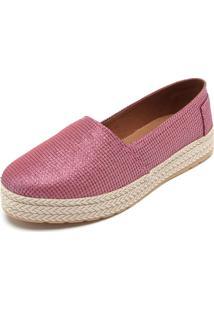 Alpargata Dafiti Shoes Tressê Rosa
