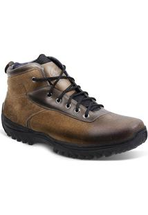 Bota Adventure Masculina Sandro Moscoloni New Coast Marrom Claro