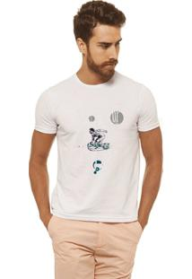 Camiseta Joss - Cant Stop - Masculina - Masculino-Branco