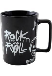 Caneca Emoji Rock - Zona Criativa