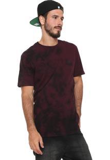 Camiseta ...Lost Tie Dye Hell Vinho
