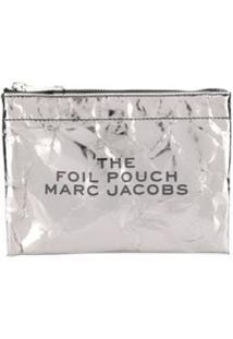 Marc Jacobs Carteira Foil - Prateado