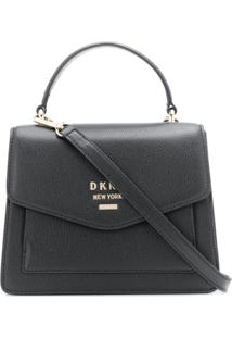 Dkny Minimal Shoulder Bag - Preto
