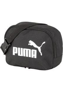 Pochete Puma Phase Waist Bag - Preto - Unissex-Preto