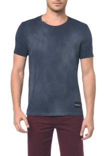 Camiseta Ckj Mc Logo Barra - Cinza Azulado - Pp