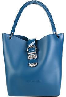 Bolsa Petite Jolie Shopper City Bag - Feminino-Azul