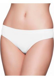 Calcinha Liz Tanga Sem Costura-70222 - Feminino-Branco