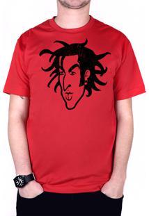 Camiseta 182Life Travis Old School Vermelha