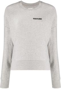 Zadig&Voltaire Champ Voltaire Sweater - Cinza