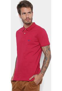 Camisa Polo Acostamento Masculina - Masculino-Pink
