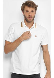 Camisa Polo Cavalera Piquet Frisos Masculina - Masculino