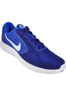 Tenis Running Azul Royal Revolution 3 Nike 56326048