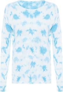 Blusa Feminina Tricot Ana Tie Dye - Azul