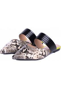 Sapato Mule Torricella Cobra - Kanui