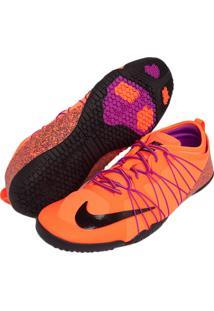 Tênis Nike Wmns Free 1.0 Cross Bionic 2 Laranja/Preto