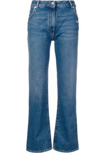 Off-White Regular Fit Jeans - Azul