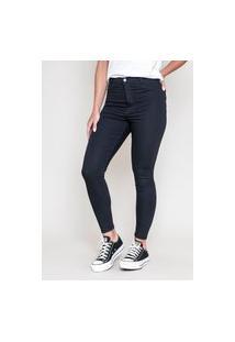 Calça Jeans Dialogo Jegging Hi Rise Black