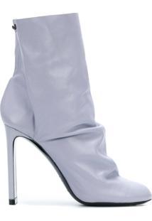 Nicholas Kirkwood Ankle Boot 'D'Arcy' De Couro - Azul