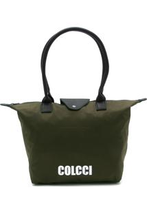 Bolsa Colcci Lettering Verde